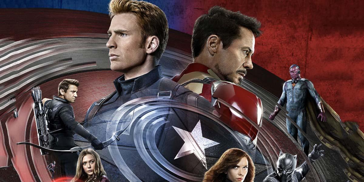 Capitan America Civil War, locandina