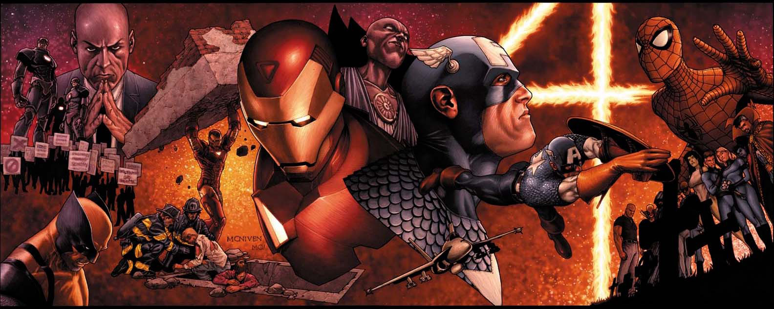 Civil-War, Mc-Niven