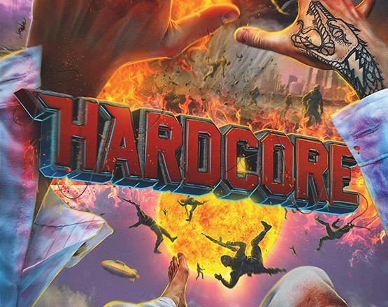 Hardcore, locandina