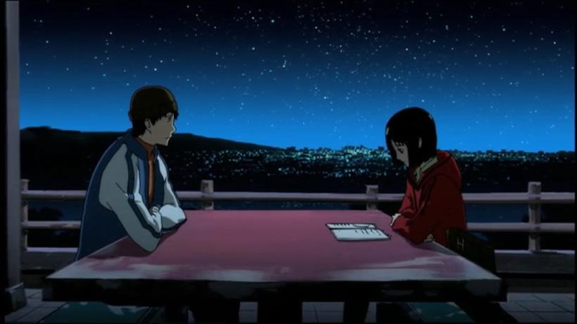 Sato e Misaki, parlando di Dio