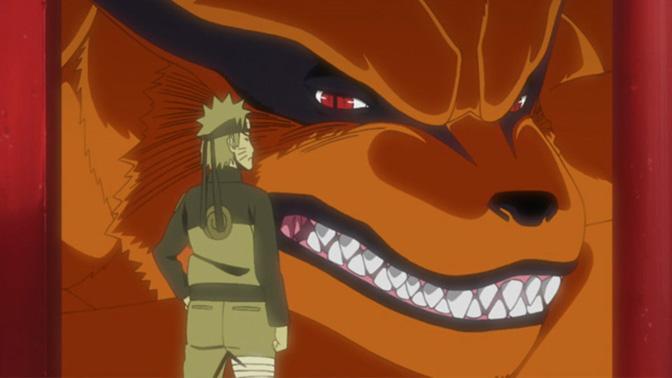 Naruto e il Kyuubi