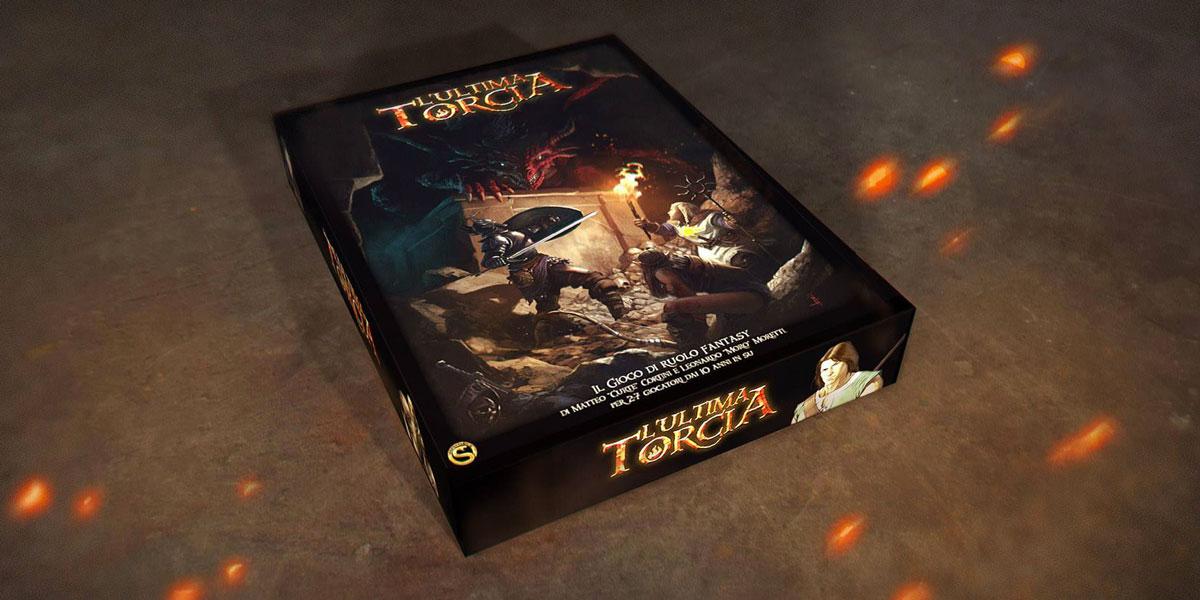 La scatola de L'Ultima Torcia