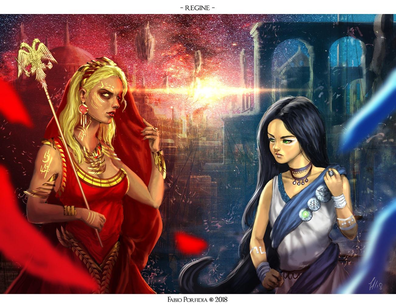 Le regine dell'espansione Taumantis