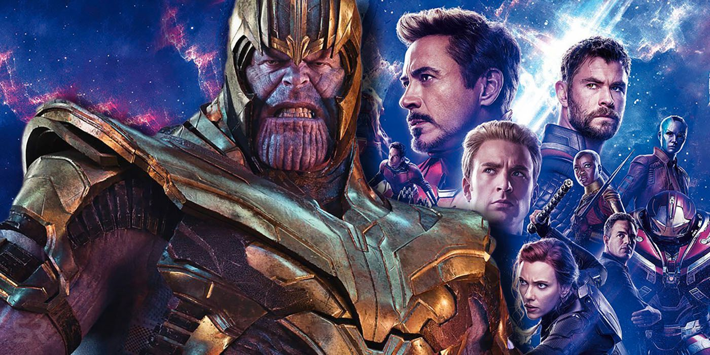 Thanos e gli avengers