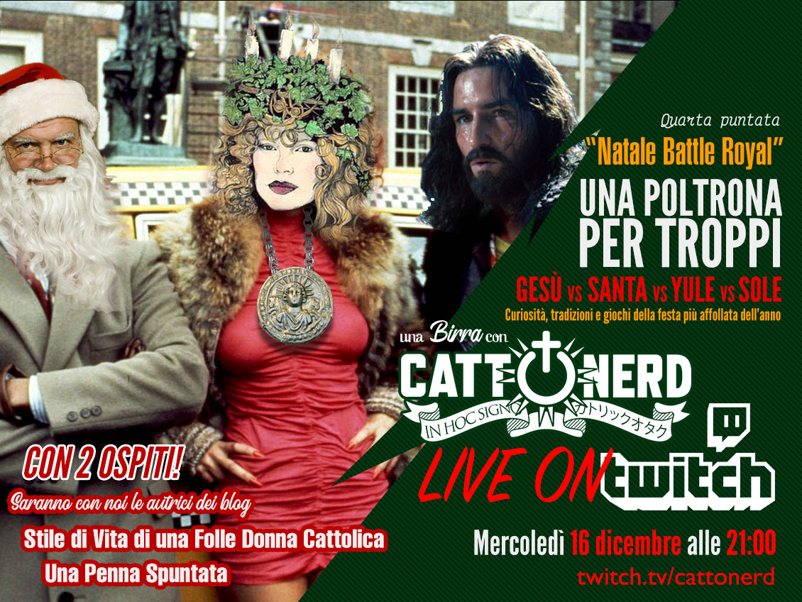 [Una birra con CattOnerD] #4 – Natale Battle Royal