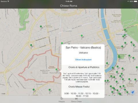Una schermata della versione iPad
