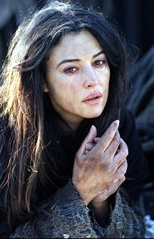 La Maddalena interpretata dalla Bellucci