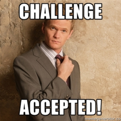 challenge accepted barney stinson