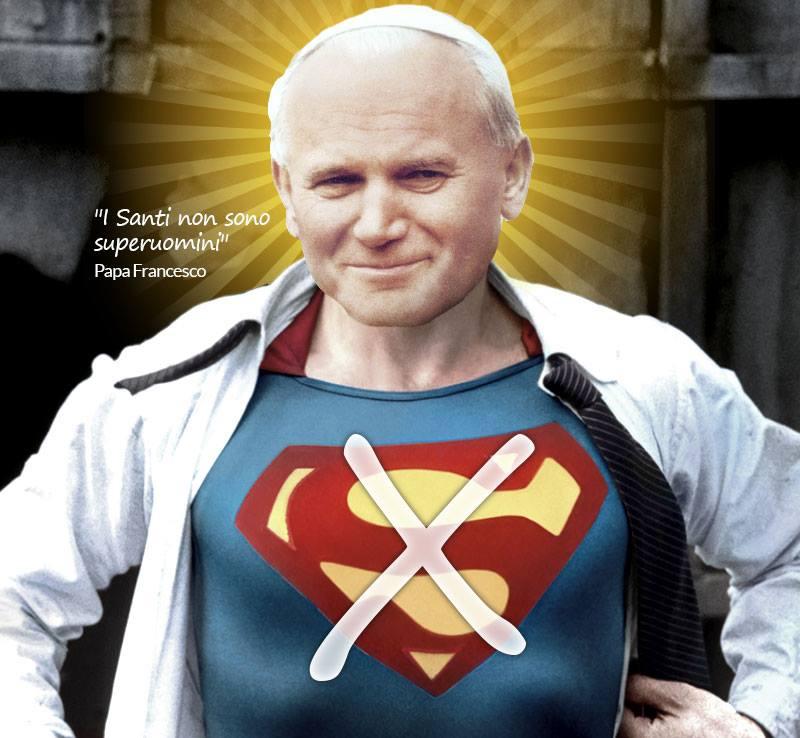 Il papa non era un supereroe