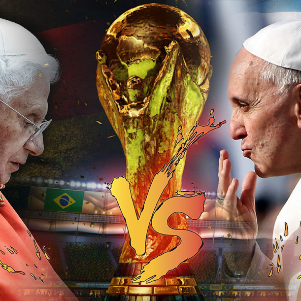 Papa Francesco contro Papa Benedetto XVI