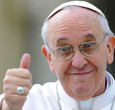 Ok di Papa Francesco