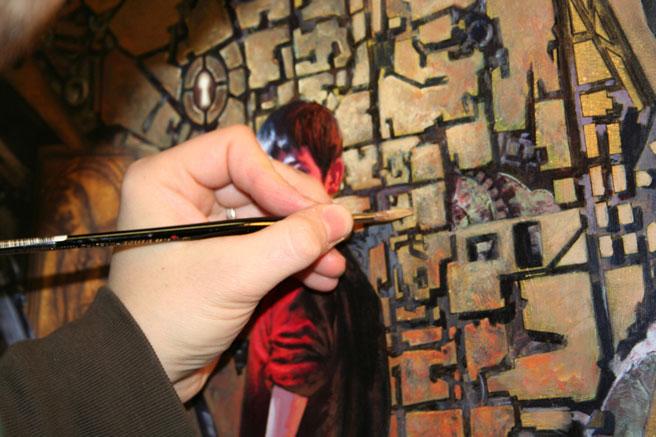 Dell'Otto disegna la locandina