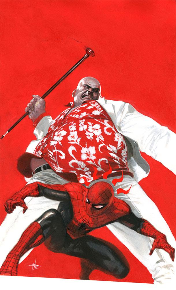 SpiderMan FamilyBusiness Cover dell otto