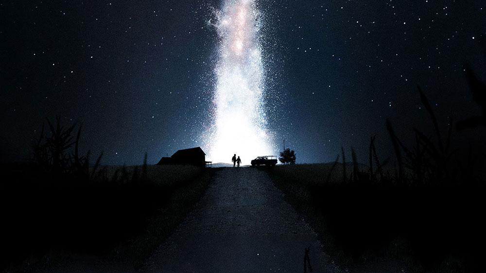 interstellar cielo stellato