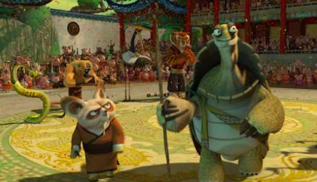 Oogway e Shifu