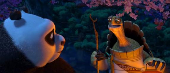 Oogway e Po