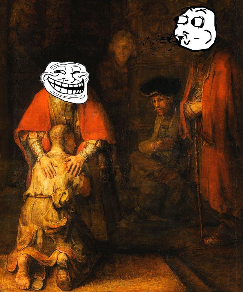 Figliol prodigo Rembrant