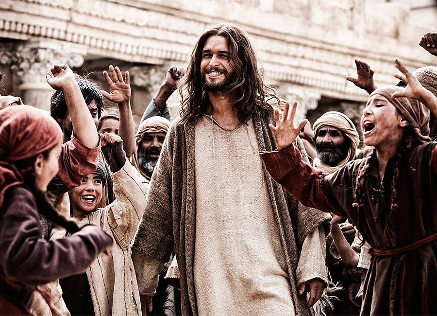 Gesù felice
