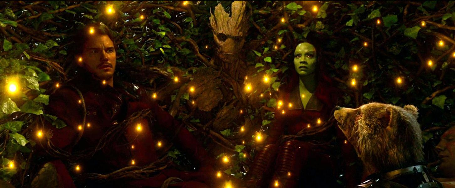 L'abbraccio di Groot