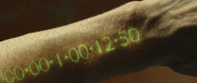 Il timer sul braccio