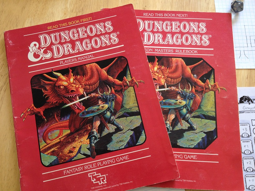dungeons and dragons scatola rossa