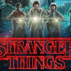 Conferenza con gli attori di Stranger Things