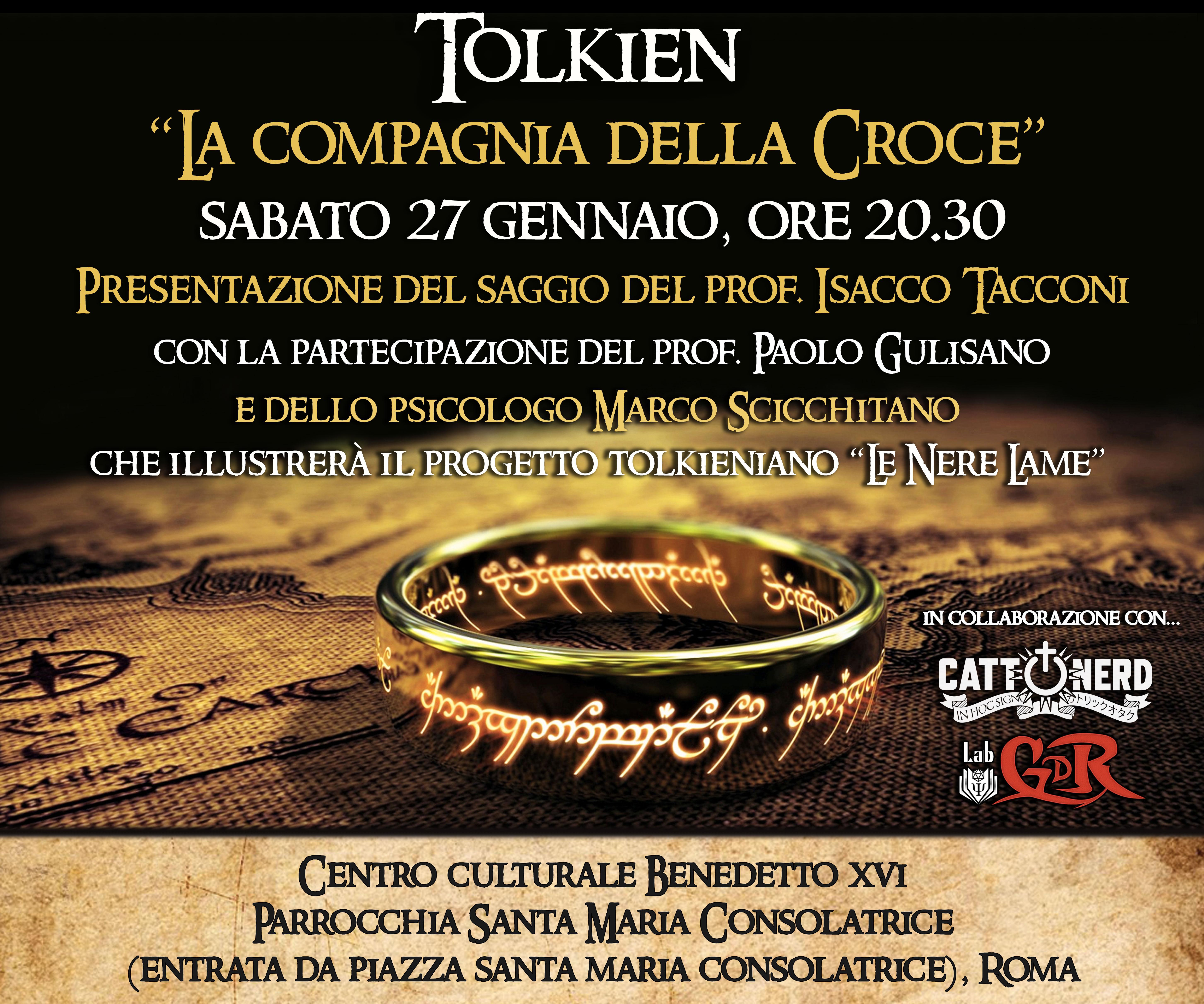 """Tolkien """"La compagnia della croce"""""""