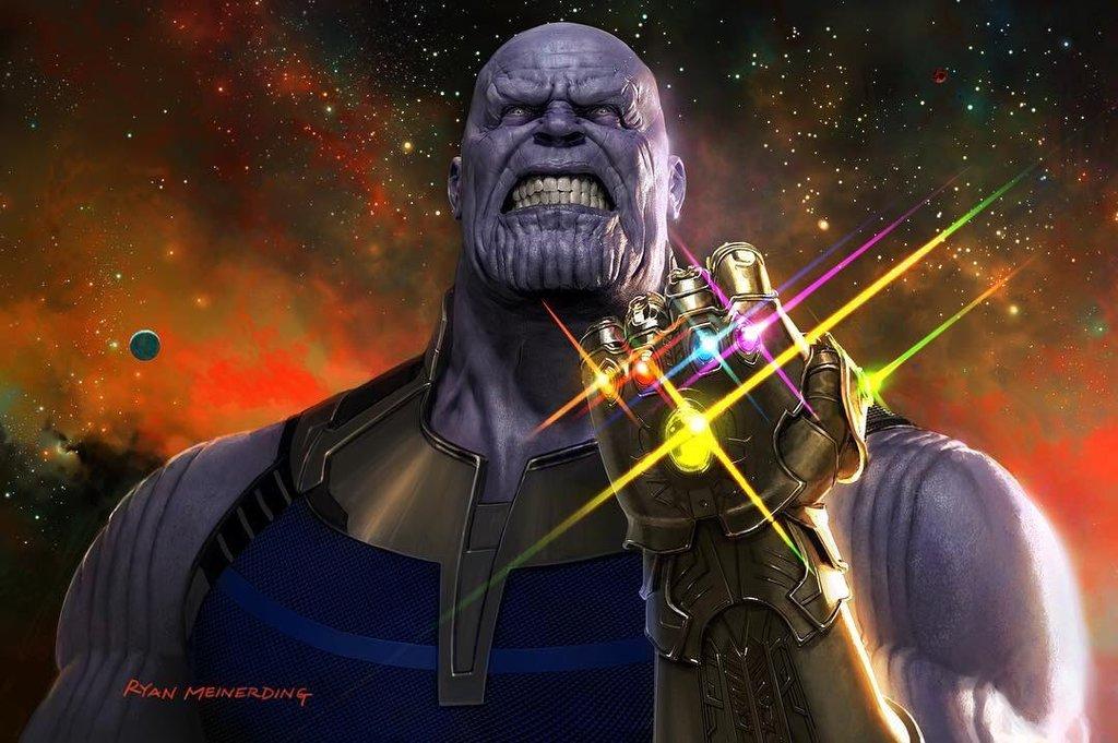 Thanos by Ryan Meinerding
