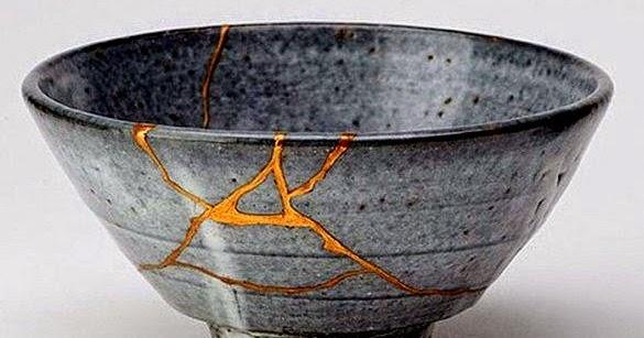 Il Kintsugi è l'arte di riparare con l'oro